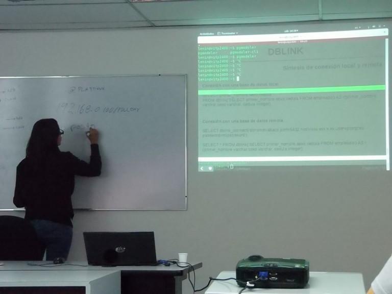 Curso de postgreSQL en Caracas