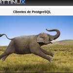 Clientes en PostgreSQL