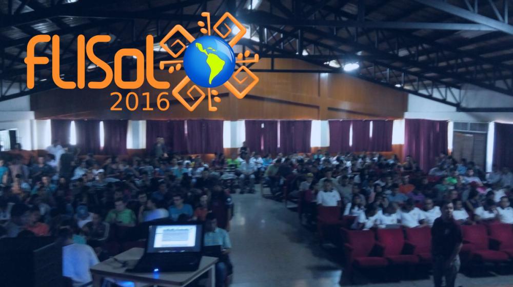 auditorio unerg flisol 2016 plattinux plattinux