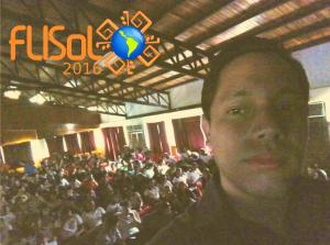 selfie flisol 2016 guarico