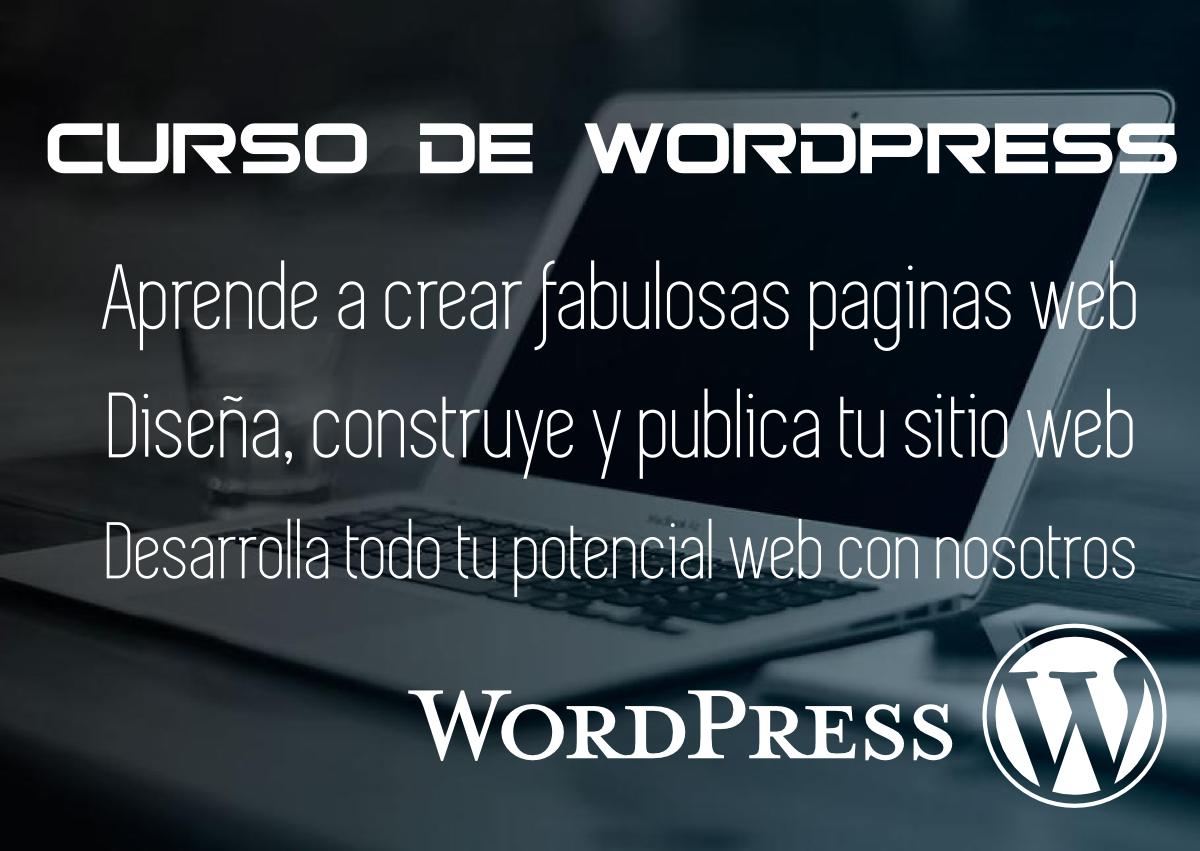 Curso Páginas Web WordPress