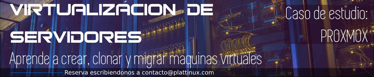 curso virtualizacion servidores proxmox caracas venezuela