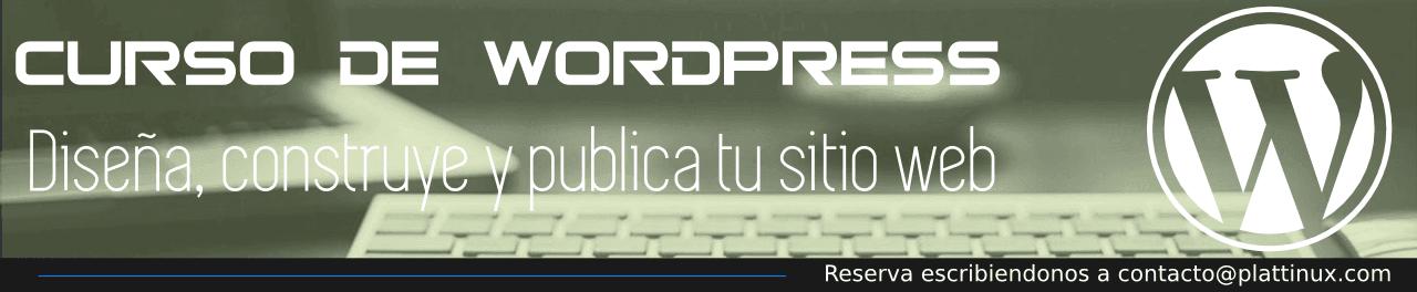 Curso WordPress Venezuela Plattinux