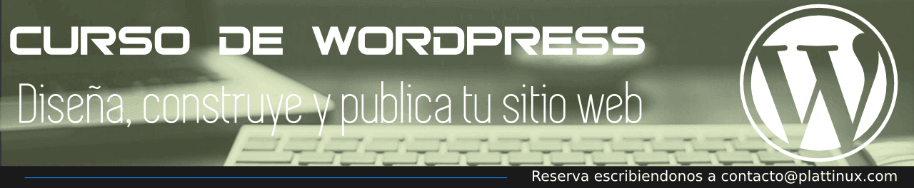 Curso WordPress Venezuela Plattinux