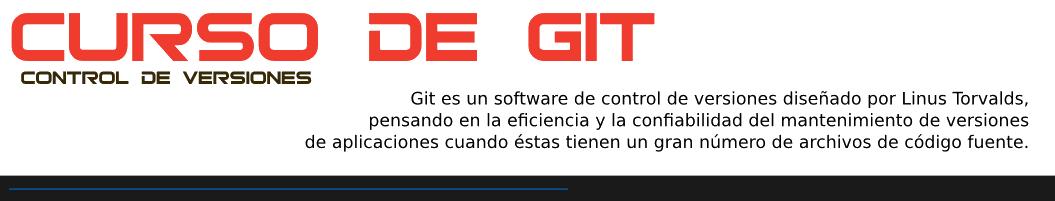 Curso de control de versiones con GIT