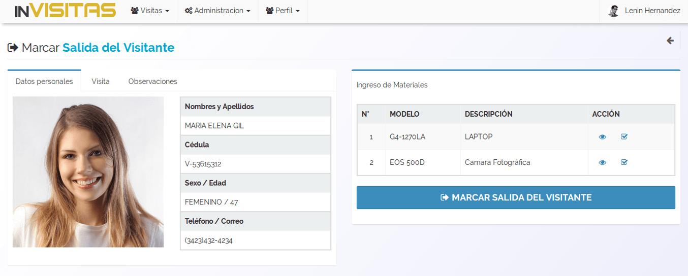 inVisitas - Control de acceso a visitantes online
