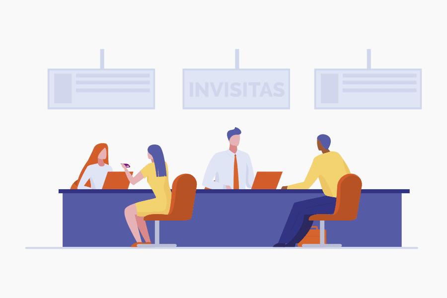 software de control de visitantes - invisitas plattinux